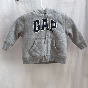 Baby Gap Fluffy Lined Hoodie 3-6 months